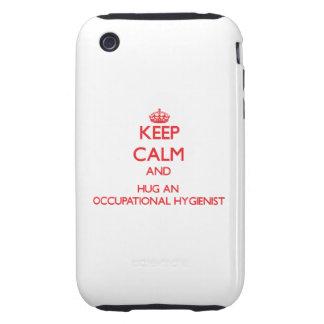 Keep Calm and Hug an Occupational Hygienist Tough iPhone 3 Case
