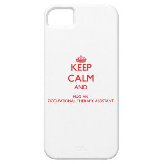 Keep Calm and Hug an Occupational Therapy Assistan iPhone 5 Case