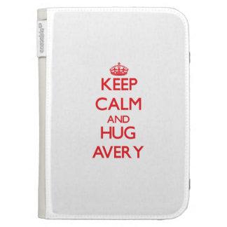 Keep calm and Hug Avery Kindle Keyboard Case