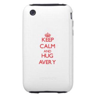 Keep calm and Hug Avery iPhone 3 Tough Case