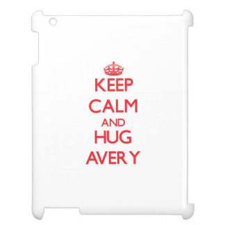 Keep calm and Hug Avery iPad Cover