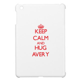 Keep calm and Hug Avery iPad Mini Cases