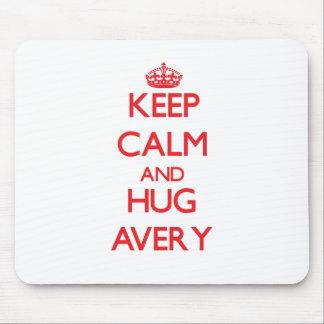 Keep calm and Hug Avery Mouse Pad