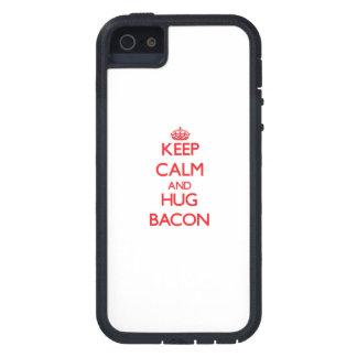 Keep calm and Hug Bacon iPhone 5 Cover