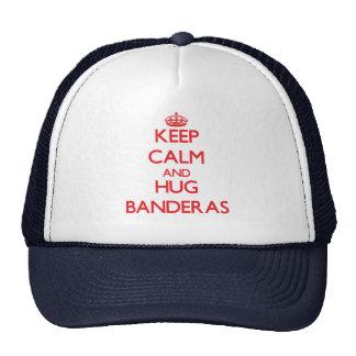 Keep calm and Hug Banderas Trucker Hat