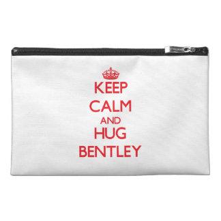Keep calm and Hug Bentley Travel Accessories Bag