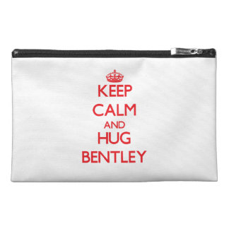 Keep calm and Hug Bentley Travel Accessory Bag