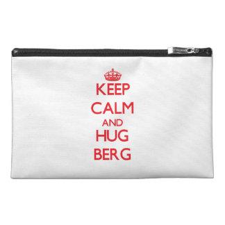 Keep calm and Hug Berg Travel Accessories Bags