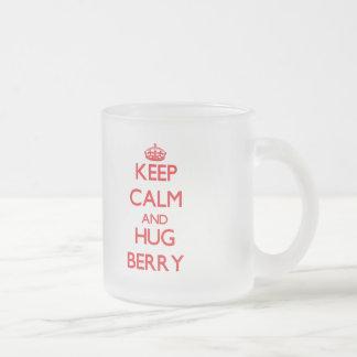 Keep calm and Hug Berry Mugs