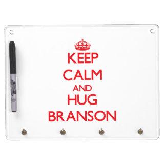 Keep Calm and HUG Branson Dry Erase Whiteboards