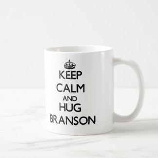 Keep Calm and HUG Branson Mugs