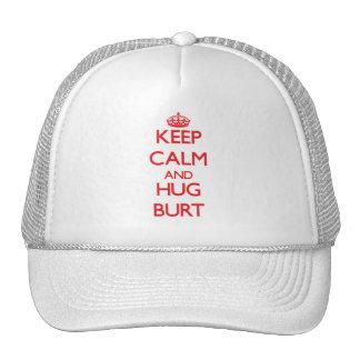 Keep calm and Hug Burt Mesh Hats