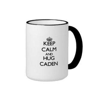 Keep Calm and Hug Caden Mugs