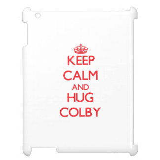Keep Calm and HUG Colby Cover For The iPad