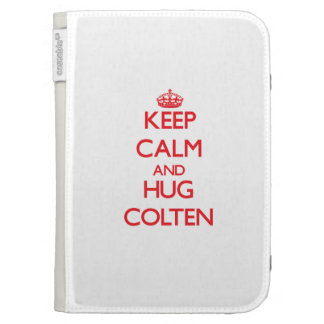 Keep Calm and HUG Colten Case For The Kindle