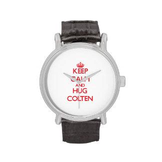 Keep Calm and HUG Colten Wrist Watches