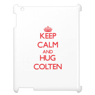 Keep Calm and HUG Colten Cover For The iPad