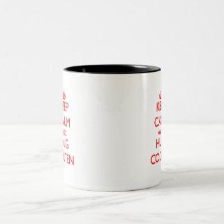 Keep Calm and HUG Colten Coffee Mug