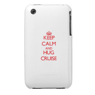 Keep calm and Hug Cruise iPhone 3 Cover