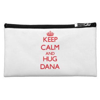 Keep Calm and HUG Dana Cosmetics Bags