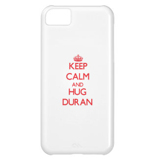 Keep calm and Hug Duran iPhone 5C Cases
