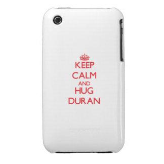 Keep calm and Hug Duran iPhone 3 Case