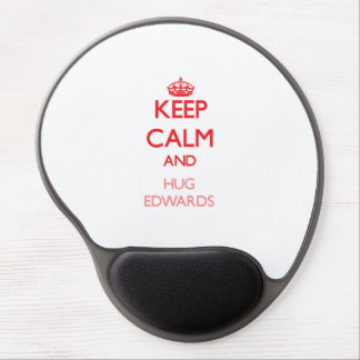 Keep calm and Hug Edwards Gel Mouse Pads
