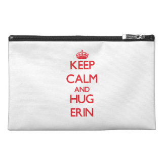 Keep Calm and HUG Erin Travel Accessories Bag