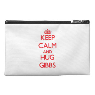 Keep calm and Hug Gibbs Travel Accessories Bags