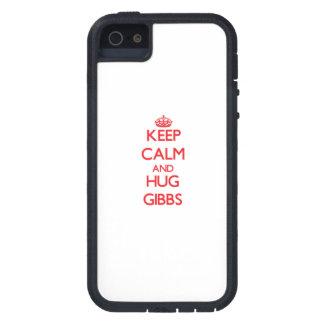 Keep calm and Hug Gibbs iPhone 5 Cover
