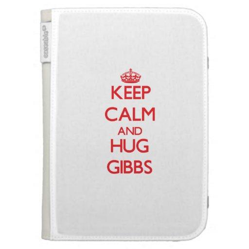 Keep calm and Hug Gibbs Kindle 3G Covers