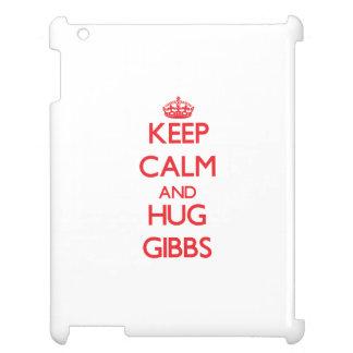 Keep calm and Hug Gibbs Case For The iPad