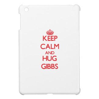 Keep calm and Hug Gibbs iPad Mini Cases