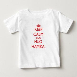 Keep Calm and HUG Hamza Shirts