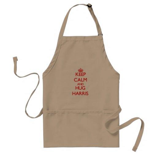 Keep Calm and HUG Harris Apron