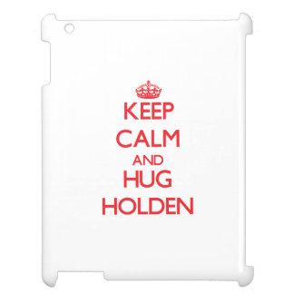 Keep calm and Hug Holden iPad Covers