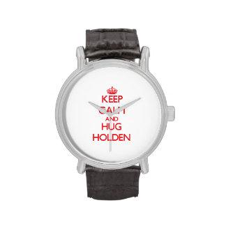 Keep calm and Hug Holden Wrist Watches