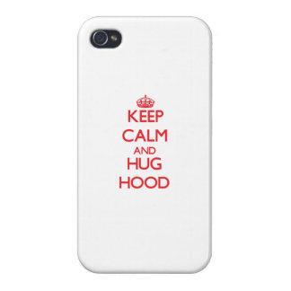 Keep calm and Hug Hood Cover For iPhone 4