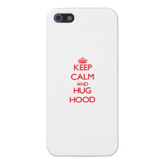 Keep calm and Hug Hood Cover For iPhone 5