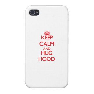 Keep calm and Hug Hood Cover For iPhone 4