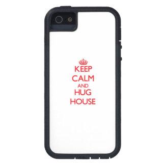 Keep calm and Hug House iPhone 5 Covers