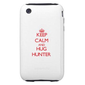 Keep calm and Hug Hunter Tough iPhone 3 Cover