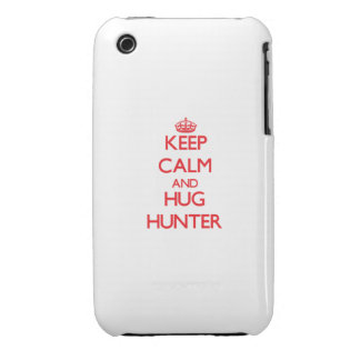 Keep calm and Hug Hunter iPhone 3 Case-Mate Case