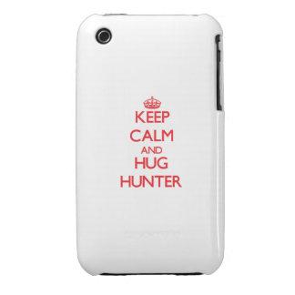 Keep calm and Hug Hunter iPhone 3 Cover