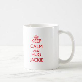 Keep Calm and HUG Jackie Coffee Mug