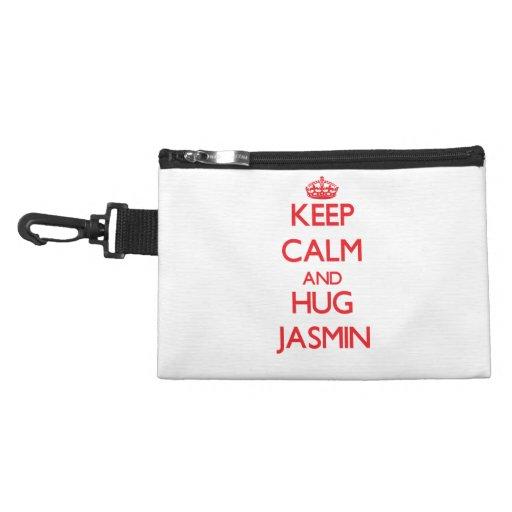 Keep Calm and Hug Jasmin Accessories Bags