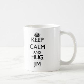 Keep Calm and HUG Jim Mug