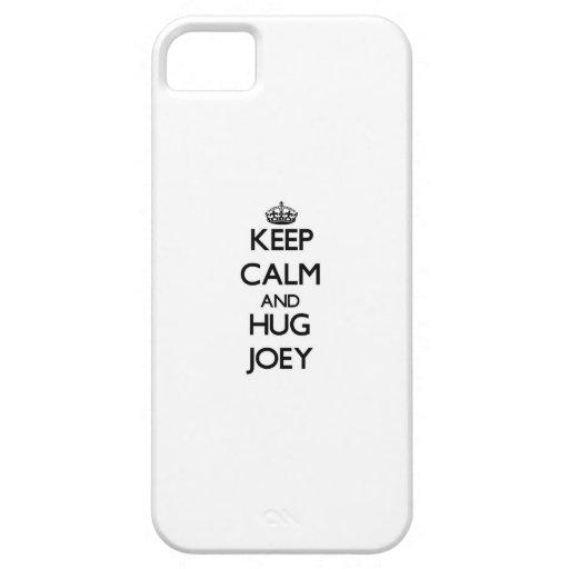 Keep Calm and Hug Joey iPhone 5/5S Covers
