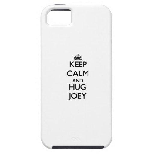 Keep Calm and Hug Joey iPhone 5 Case