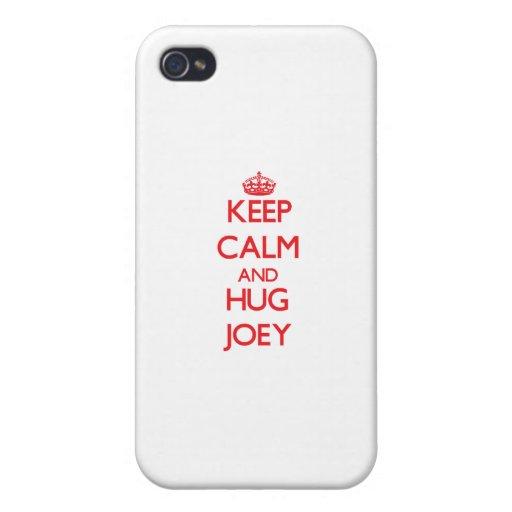 Keep Calm and HUG Joey iPhone 4/4S Covers